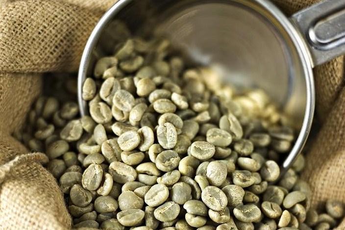 rohelise kohvi oad