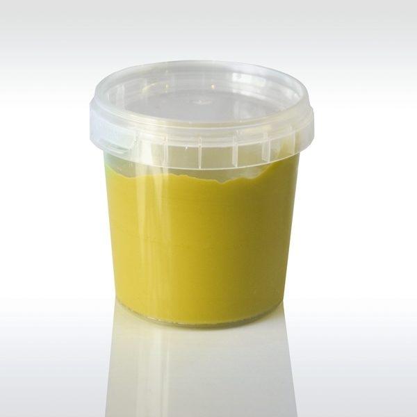 Пальчиковая краска Ökonorm желтая 150ml