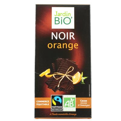 Черный шоколад с апельсином JardinBio 100 g