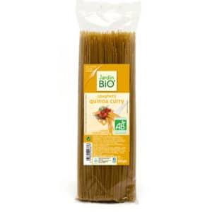 JardinBio spagetid durumnisust kinoa ja karriga 500g