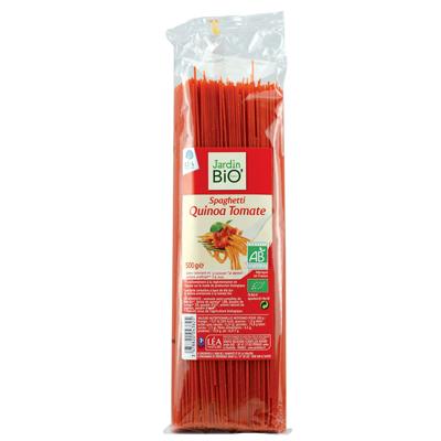 Спагетти с киноа и томатами JardinBio 500 g