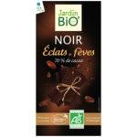 Черный шоколад с кусочками какао бобов JardinBio 100 g