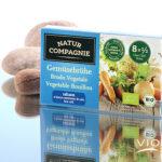 Бульонные кубики овощные без соли NaturCompagnie 8x8,5g