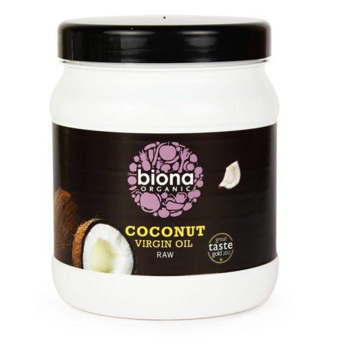 Кокосовое масло холодного отжима Biona 800g