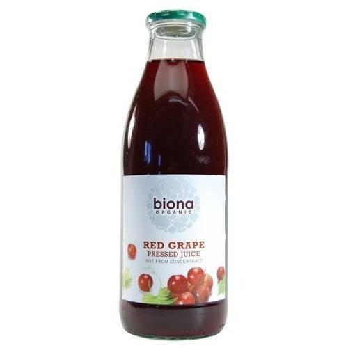 Biona punase viinamarja mahl 1L