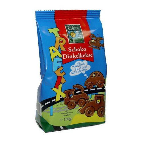 Шоколадное печенье со спельтой Bohlsener Mühle 150g