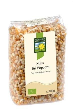 Кукуруза для попкорна Bohlsener Mühle 500g