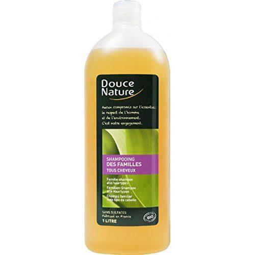 Шампунь для всей семьи с медом и экстрактом крапивы Douce Nature 1L