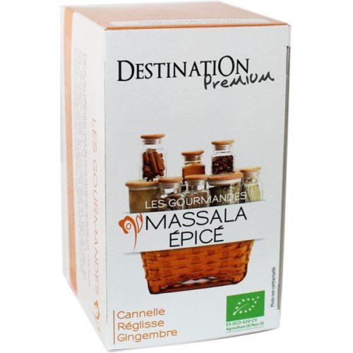 Destination India Chai Garam Massala 20x1,5g