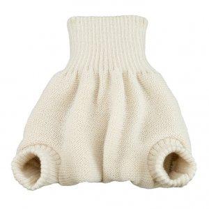 Disana Natural White Woollen Overpants