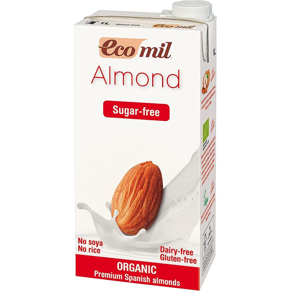 Миндальный напиток неподслащенный EcoMil 1L