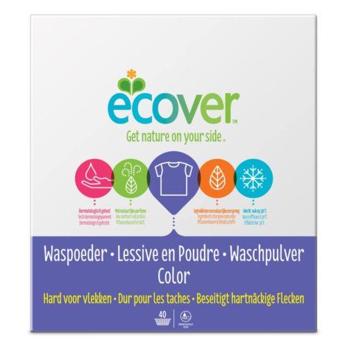 Стиральный порошок для цветного белья Ecover 3kg