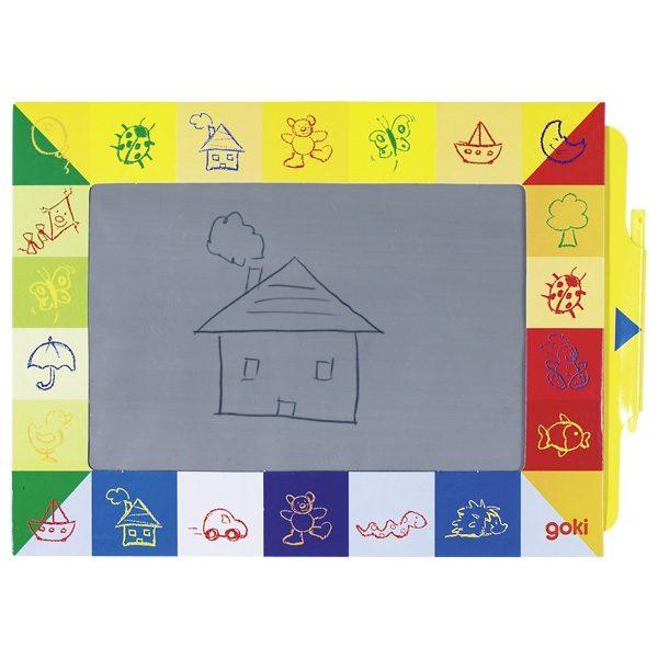 GOKI Magic Slate 19 x 27 cm