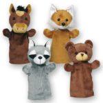 Кукла-рукавичка Лесные животные Gollnest & Kiesel 1шт