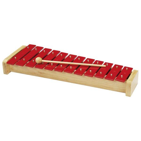 Ксилофон металлический  GOKI, 12 тонов