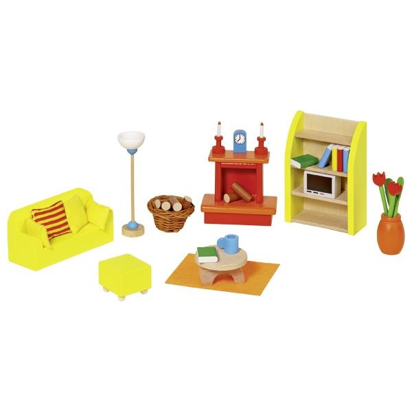 Мебель для кукольной гостиной GOKI