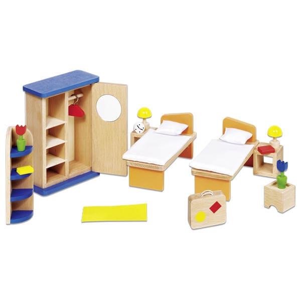 Мебель для кукольной спальни GOKI