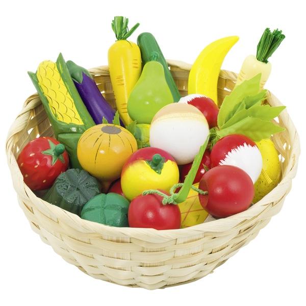Корзина с фруктами и овощами GOKI