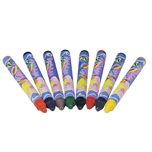 Ökonorm Textile Wax Crayons 8 color