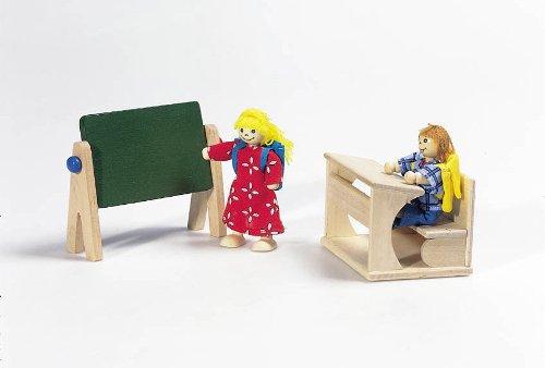 Кукольный набор Школа GOKI