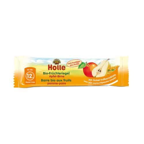 Holle Apple & Pear Fruit Bar 25g