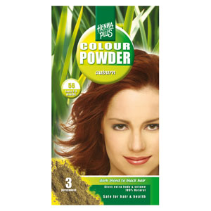 Краска для волос Henna Plus 100g, коричневый каштан 56