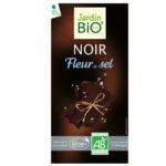 Черный шоколад с солью Fleur de Sel JardinBio 100g