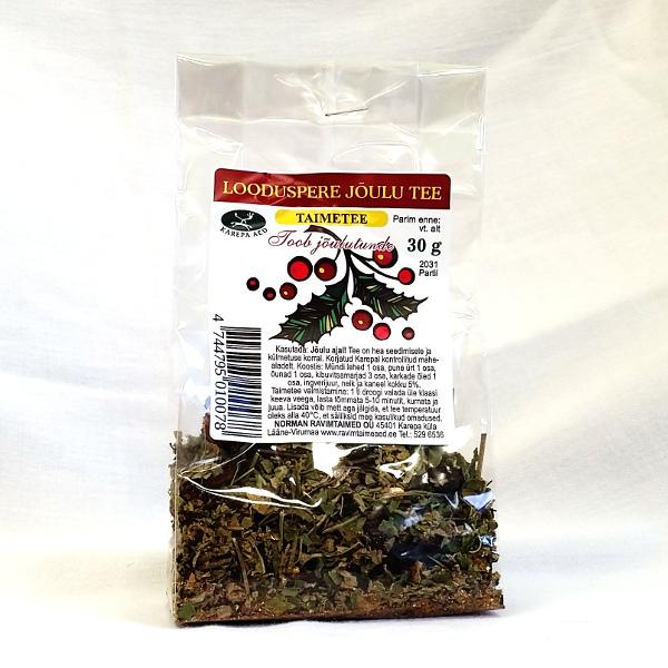 Рождественский чай Looduspere 30g