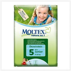 Подгузники Moltex Nature Junior 11-27kg, 26 шт.