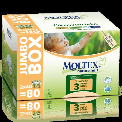 Moltex Nature Midi (4 - 9 kg) Jumbo Box
