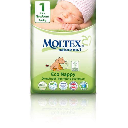 Moltex Nature Newborn mähkmed (2-4 kg)