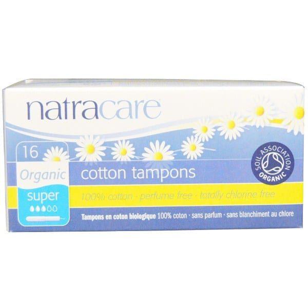 Тампоны Natracare  Super с аппликатором 16 шт.