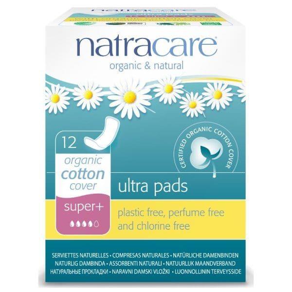 Прокладки Natracare Super plus 12 шт.