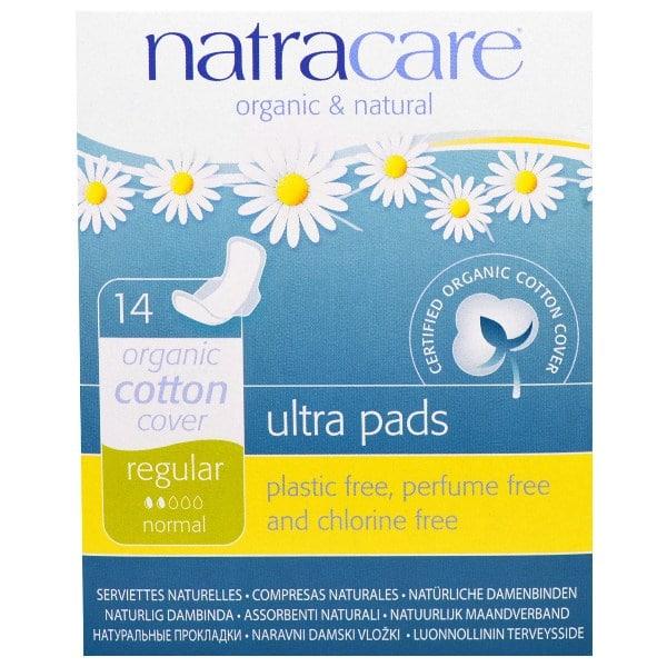 Natracare Ultra Pads Regular (pack of 14)