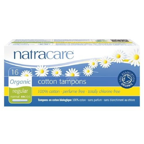 Natracare Applicator Tampons Regular (pack of 16)
