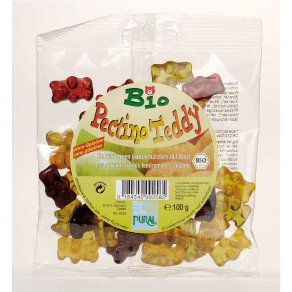 Жевательные конфеты Pectino Teddy  Pural 100g