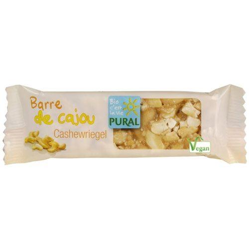 Батончик с индийскими орехами Pural 25g