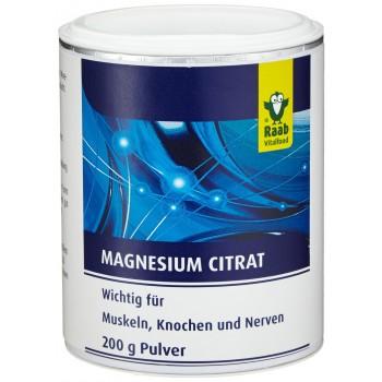 RAAB Magnesium Citrate Powder 200g