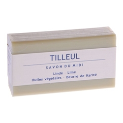 Savon Du Midi Shea Butter Soap with Linden