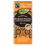 Tooršokolaad 70% apelsini ja ksülitooliga 44g