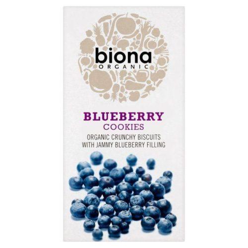 Печенье с черничной начинкой Biona 175g