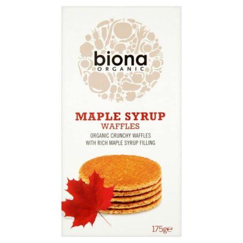 Biona Maple Syrup Waffles 175g