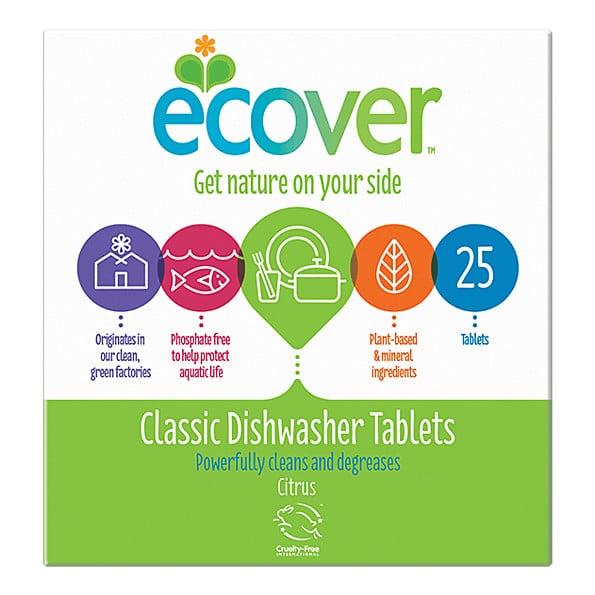 Таблетки для посудомоечной машины Ecover 25tk