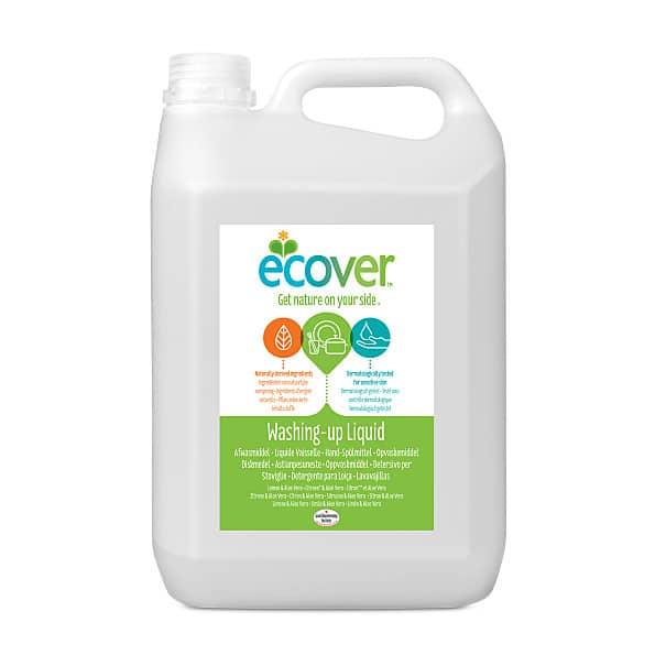 Ecover aaloe-sidruni nõudepesuvahend 5l