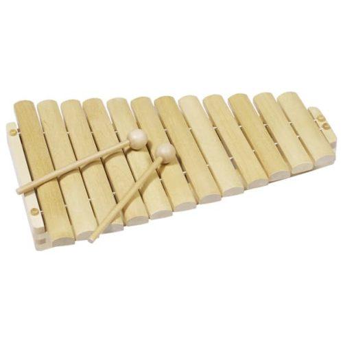 GOKI 12-tooniline puidust ksülofon