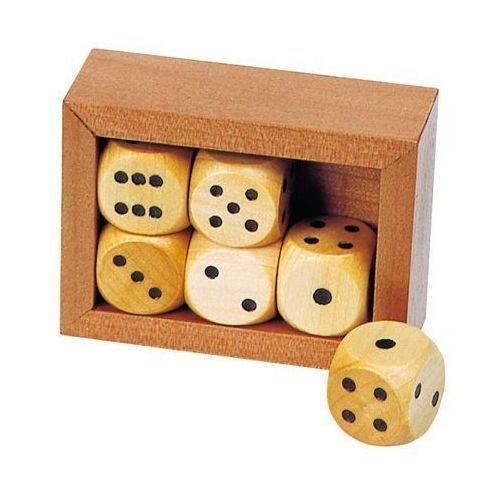 Коробка с 6 кубиками GOKI