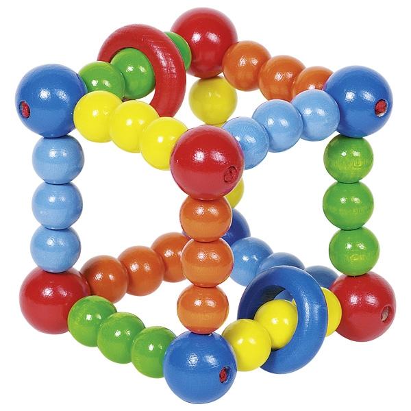 Погремушка Цветной куб Heimess