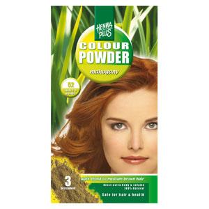 Краска для волос Henna Plus 100g, махагон 52
