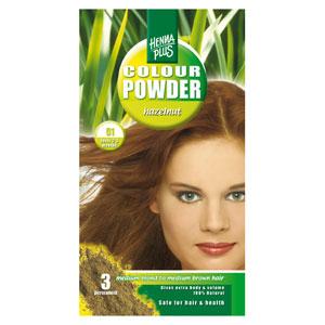 Краска для волос Henna Plus 100g, орехово-коричневый 51