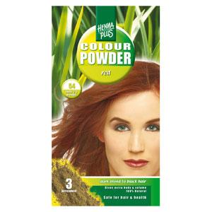 Краска для волос Henna Plus 100g, красный 54
